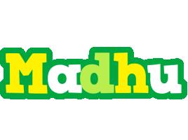 Madhu soccer logo