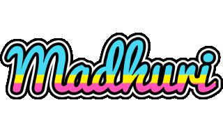 Madhuri circus logo