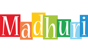 Madhuri colors logo