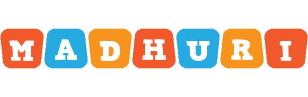 Madhuri comics logo