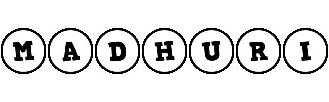 Madhuri handy logo