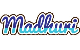 Madhuri raining logo