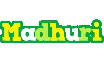Madhuri soccer logo