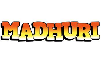 Madhuri sunset logo