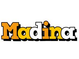 Madina cartoon logo