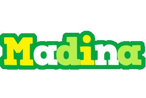 Madina soccer logo