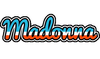 Madonna america logo
