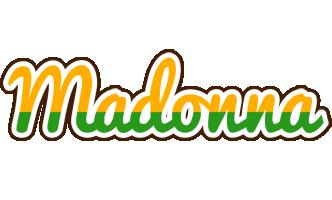 Madonna banana logo