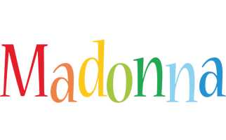 Madonna birthday logo