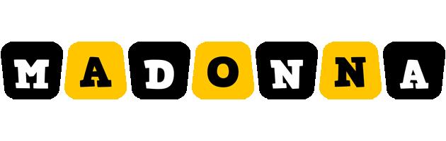 Madonna boots logo