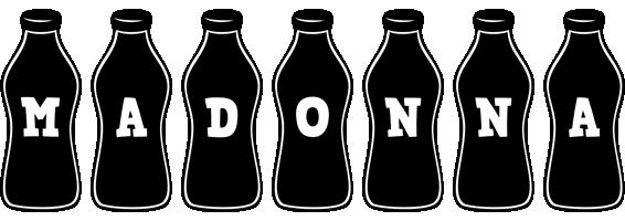 Madonna bottle logo