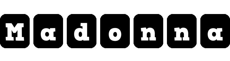 Madonna box logo