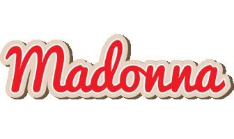Madonna chocolate logo