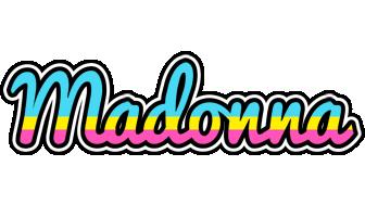 Madonna circus logo