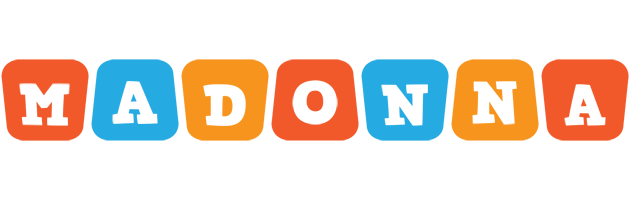 Madonna comics logo