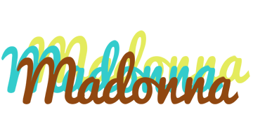 Madonna cupcake logo