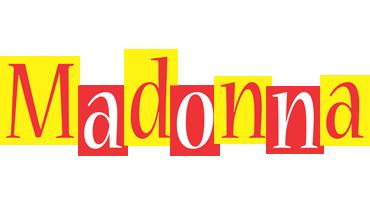 Madonna errors logo