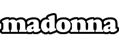 Madonna panda logo