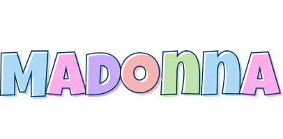 Madonna pastel logo