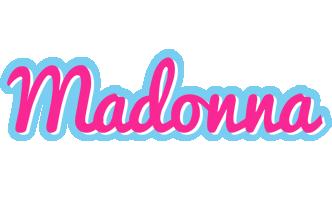 Madonna popstar logo