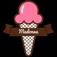 Madonna premium logo