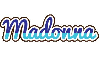 Madonna raining logo
