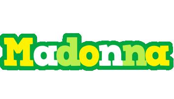 Madonna soccer logo
