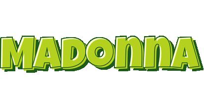 Madonna summer logo