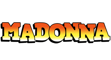 Madonna sunset logo
