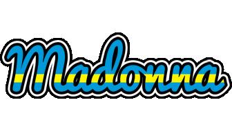 Madonna sweden logo