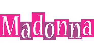 Madonna whine logo
