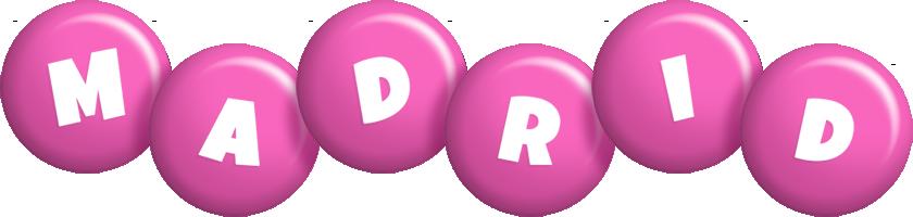 Madrid candy-pink logo