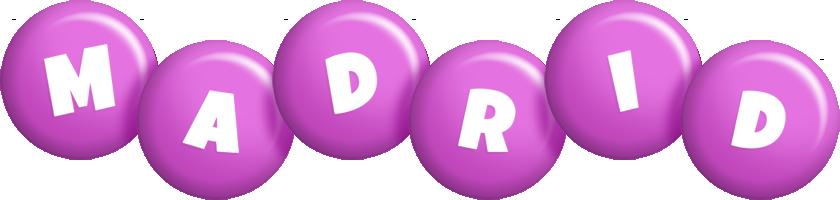 Madrid candy-purple logo
