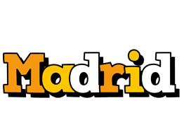 Madrid cartoon logo
