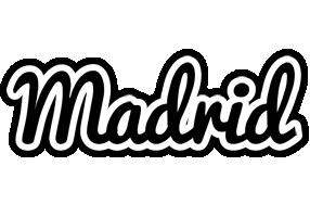 Madrid chess logo