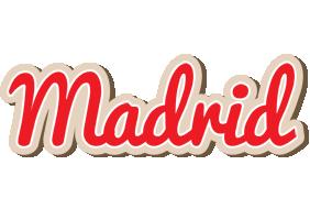 Madrid chocolate logo