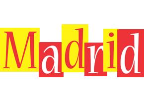 Madrid errors logo