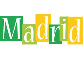 Madrid lemonade logo