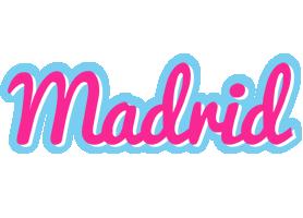 Madrid popstar logo