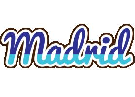 Madrid raining logo