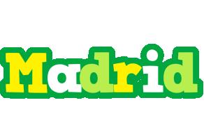 Madrid soccer logo