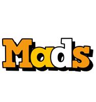 Mads cartoon logo