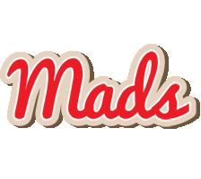 Mads chocolate logo