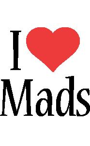 Mads i-love logo