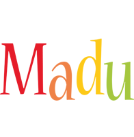 Madu birthday logo