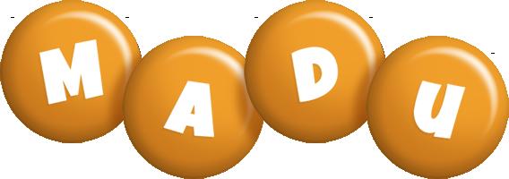 Madu candy-orange logo