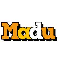 Madu cartoon logo