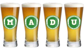 Madu lager logo