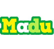 Madu soccer logo