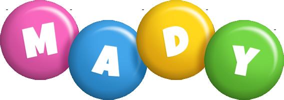 Mady candy logo